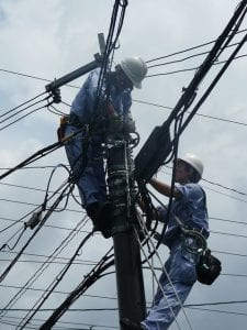 power line maintenance