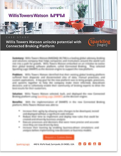 Willis Towers Watson-Connected Broking Platform